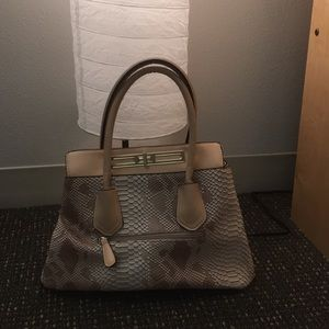 Handbags - Boutique faux snake skin bag